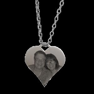 Medium Heart Sterling Silver