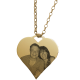 Big Heart Yellow Gold
