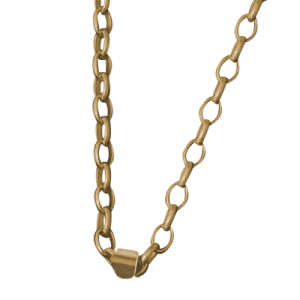 Oval Belcher Chain 9ct Gold
